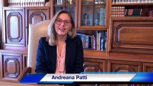 Andreana Patti – Presidente fondazione Tonni  e Tonnare del litorale trapanese